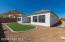 """""""Lookout Mountain Views"""" Spacious Rear Yard with Mingus Mountain Views, Faux Grass Lawn, Raised Planter Beds & Easy Care Plants on Drip Watering System."""