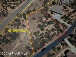 Photo of 5630 Darius Circle, Prescott, AZ a vacant land listing for 0.76 acres