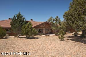 Photo of 5350 W Bruno Canyon Drive, Prescott, AZ a single family home around 5000 Sq Ft., 3 Beds, 4 Baths