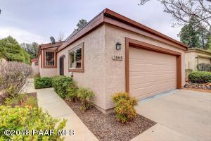 Photo of 1665 Quail Run, Prescott, AZ a single family home around 1500 Sq Ft., 2 Beds, 2 Baths