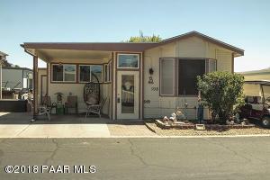 Photo of 849 N Ponderosa Pine Drive, Prescott Valley, AZ a single family manufactured home around 800 Sq Ft., 2 Beds, 1 Bath