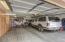 Main Level 2-car garage with storage