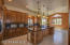 Beautiful Gourmet Kitchen with Walnut Cabinetry