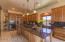 Granite Countertops with Large Kitchen Island with Breakfast Bar