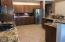 Kitchen with loads of cabinets!