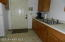Downstairs kitchenette with separate entrance