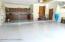 Garage with epoxy floor
