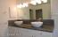 Designer elevated basins and hardware for master bath vanity!
