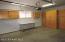 View of single car garage
