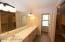 Inviting Large Master Bath features...