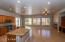 Huge kitchen, great room, love that granite.