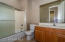 Hall bath.