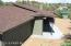 New architectural single roof, fascia, chimney cap, roof vents, trim and paint