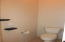 Master on suite water closet