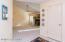 Foyer with coat closet storage