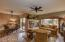 Updated flooring, lighting, fixtures and window treatments.