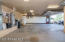 Look at the size of this garage.... and all the storage cabinets - did you see the dog wash station back there?