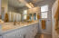 Double Sink and Quartz Counter Top