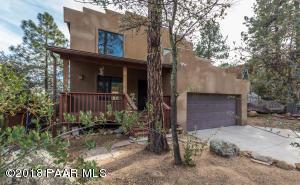 Unique Santa Fe Style home in the Mile High Subdivision of Prescott