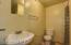 Private quarters bathroom