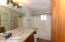 Bathrooms remodeled in 2011 including alder cabinets & granite countertops