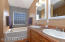 Master Bath, double sinks, over-sized tub and separate shower