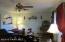Living room from door