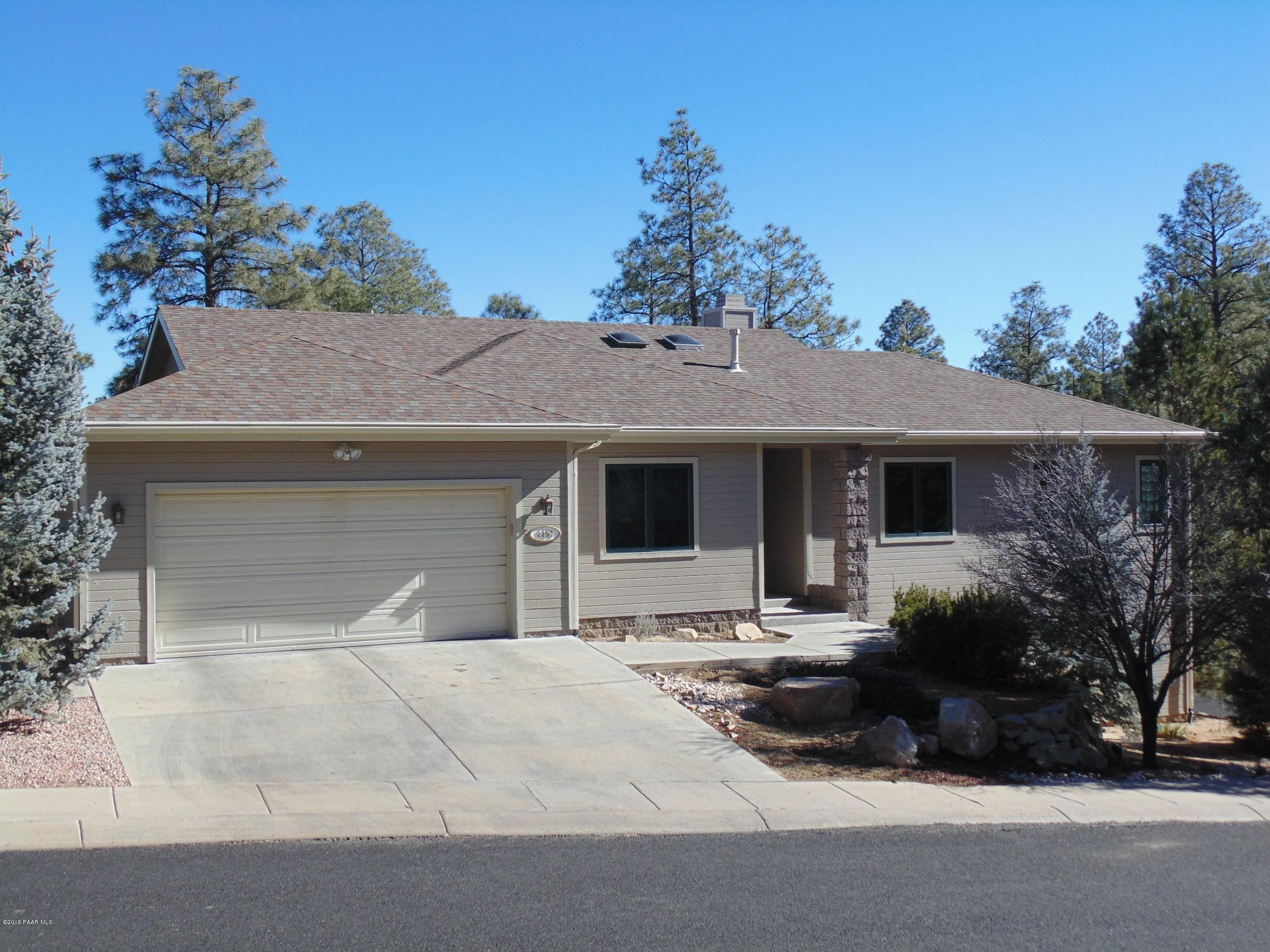 1151  Trails End , Prescott Az 86303