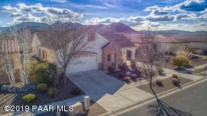 Front Aerial with Panoramic Mountain Views!