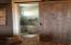 Custom Barn Door with full length mirror on reverse side.