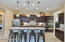 Amazing kitchen bar with bi-level granite top