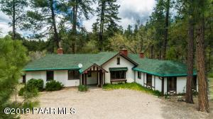 1500 E Friendly Pines Road, Groom Creek, AZ 86303