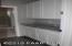Hallway Storage with granite counter tops