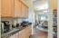 Kitchen pass-thru to Formal Dining Room