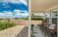 Oversized option selected on this back covered Porch when home was built ... enjoy wonderful VIEWS