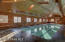 Indoor pool for year round enjoyment.