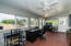 Beautifully remodeled Arizona room with a mini split to allow year round enjoyment.