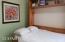 Bedroom 2 with built in murphy bed/office