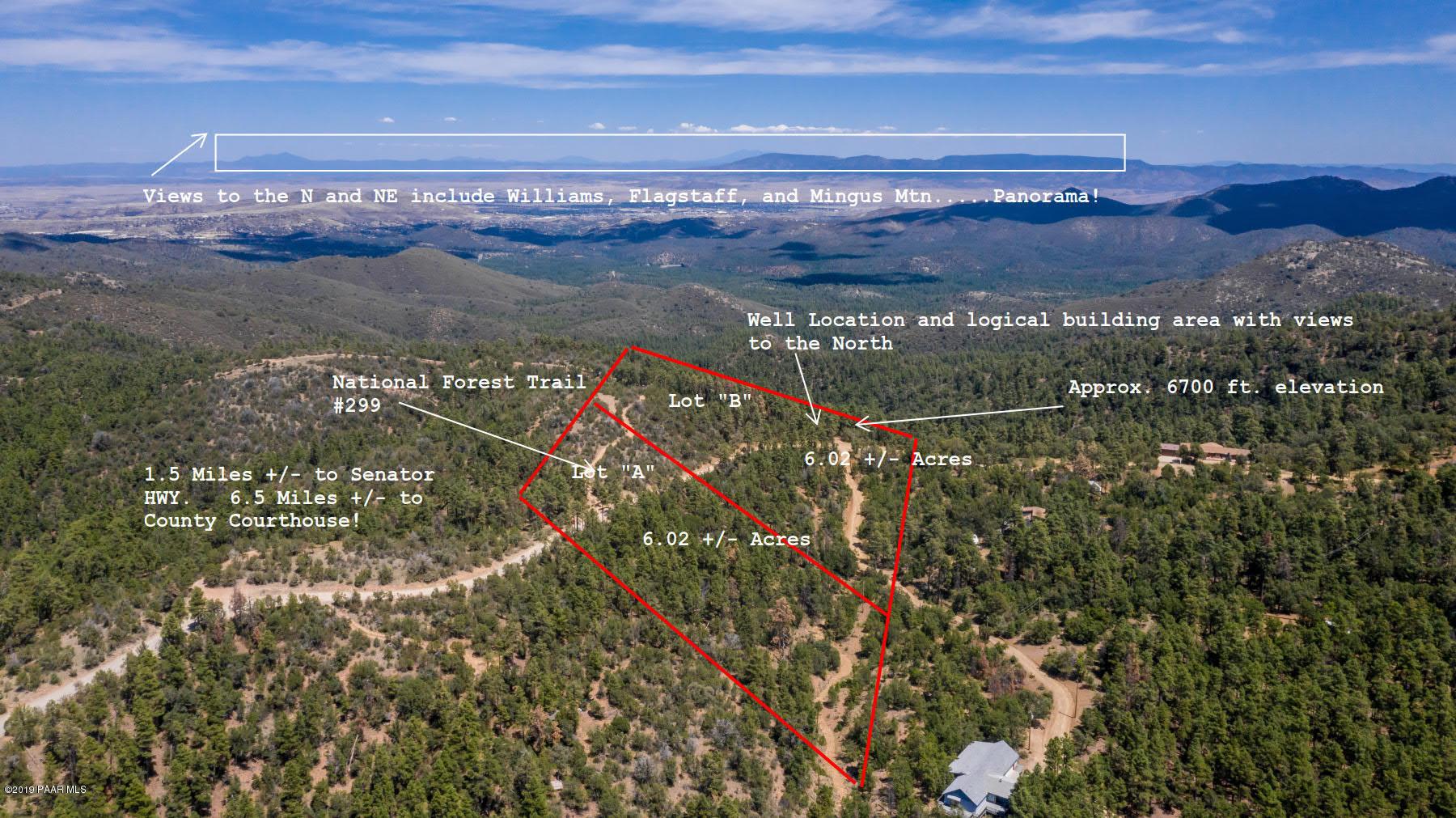 Photo of Spruce Mountain Lot B, Prescott, AZ 86303