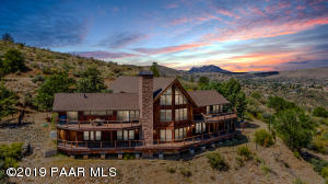 Stunning Home on 6.83 Acres Backing to State Land