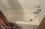 newer bathtub and surround