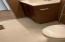 brand new flooring in both bathrooms