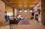 Cozy media room upstairs