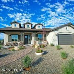 Photo of Model Home Exterior