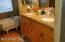 Master bath with updated granite counters