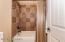 Nice Tiled Tub/Shower Combo!