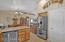 Upgraded stainless steal appliances. Large pantry
