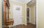 Custom trim foyer welcomes your guests!
