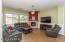 Abundant & well lighted great room