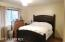 Master Bedroom Shown here with a King Bed